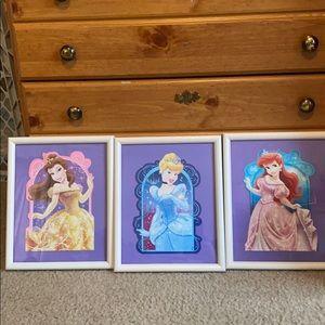 Disney Princesses picture frames
